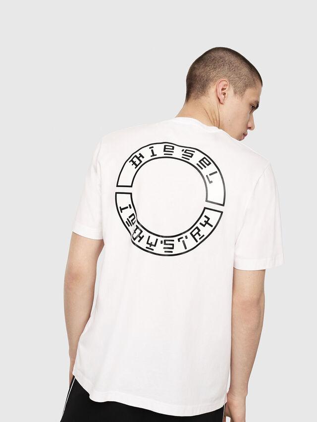 Diesel - T-JUST-Y13, Weiß - T-Shirts - Image 2