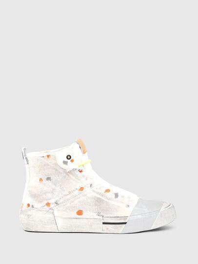Diesel - S-DESE SCT, Weiß/Orange - Sneakers - Image 1