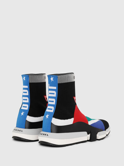 Diesel - H-PADOLA HIGH SOCK, Bunt - Sneakers - Image 3