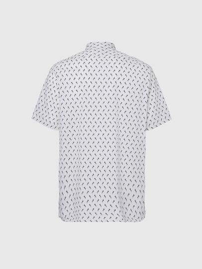 Diesel - S-RILEY-SHO-KA, Weiß - Hemden - Image 2