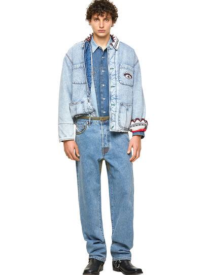 Diesel - DxD-P2 0CBBI, Hellblau - Jeans - Image 5