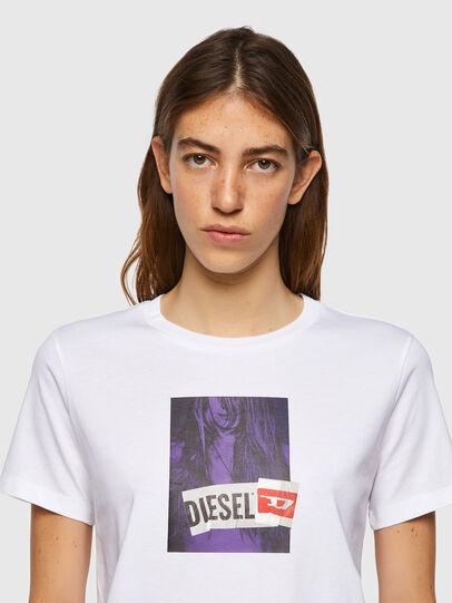 Diesel - T-SILY-B3, Weiß - T-Shirts - Image 3