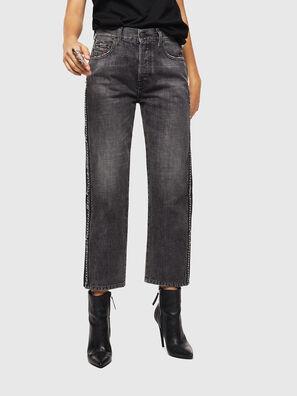 Aryel 0096I, Schwarz/Dunkelgrau - Jeans