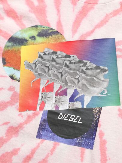 Diesel - TSILYTD, Rosa/Weiss - T-Shirts und Tops - Image 3