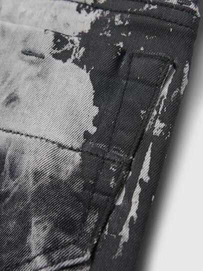 Diesel - THOMMER-J, Schwarz/Weiss - Jeans - Image 4