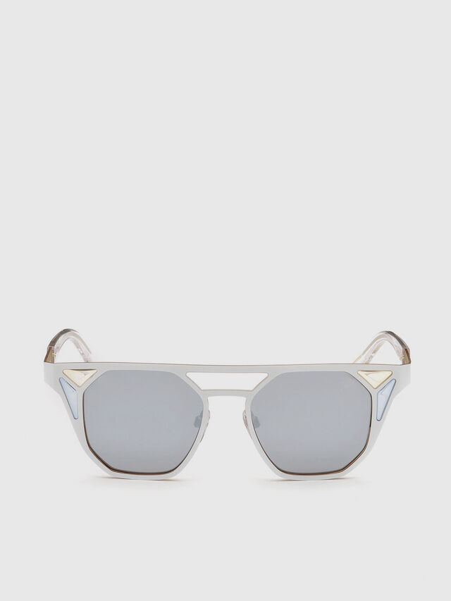 Diesel - DL0249, Weiß - Sonnenbrille - Image 1