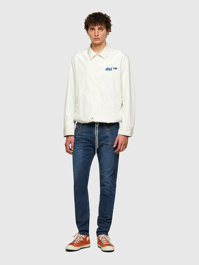 Diesel - D-Strukt JoggJeans® 069WP, Dunkelblau - Jeans - Image 5