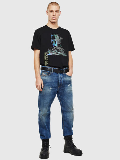 Diesel - D-Macs 0097I, Mittelblau - Jeans - Image 7