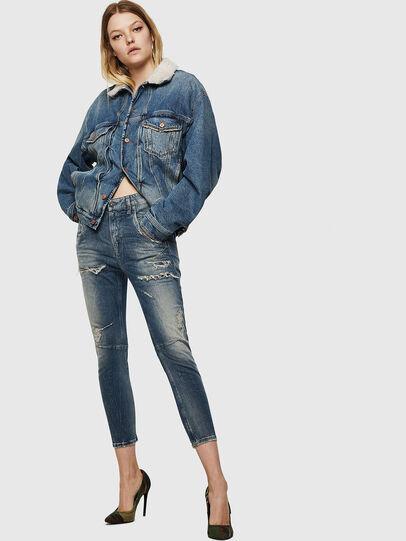 Diesel - Fayza JoggJeans 0890A, Hellblau - Jeans - Image 6