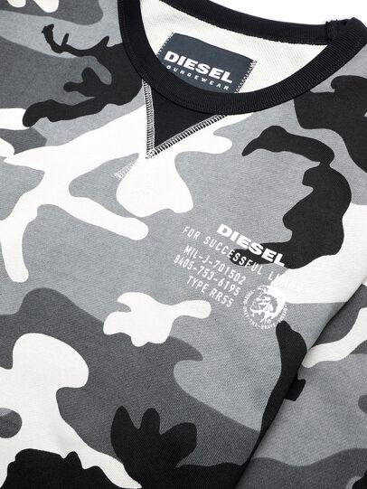 Diesel - UMLT-WILLY, Grau/Schwarz - Sweatshirts - Image 3
