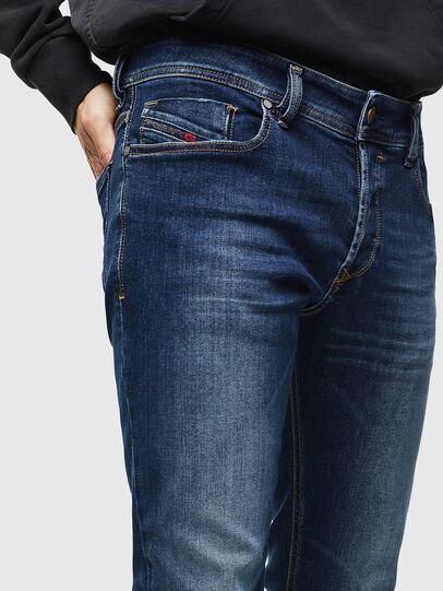 Diesel - Sleenker 086AJ, Mittelblau - Jeans - Image 3