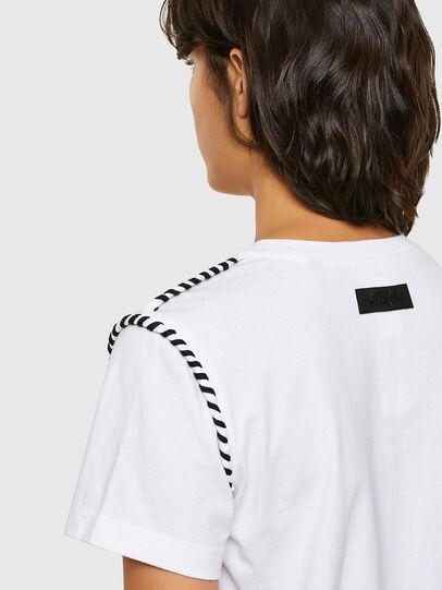 Diesel - T-TWISTY, Weiß - T-Shirts - Image 4