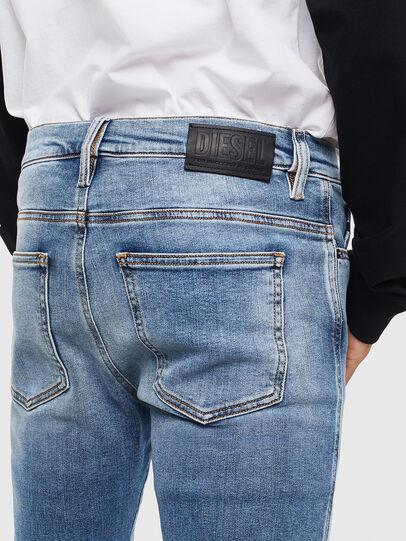Diesel - D-Istort 009BG, Mittelblau - Jeans - Image 4