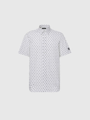 S-RILEY-SHO-KA, Weiß/Schwarz - Hemden