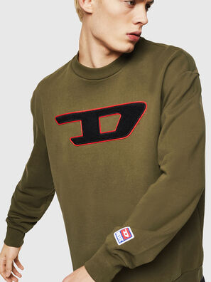 S-CREW-DIVISION-D, Armeegrün - Sweatshirts
