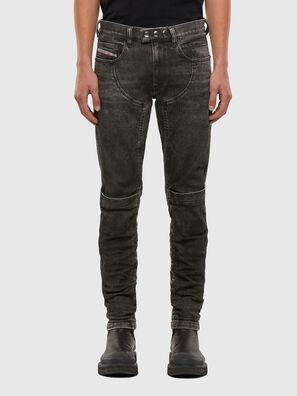 D-Dean 009LI, Schwarz/Dunkelgrau - Jeans