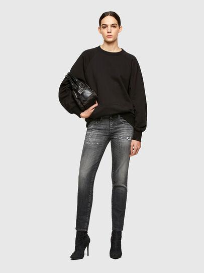 Diesel - D-Ollies JoggJeans® 009QT, Schwarz/Dunkelgrau - Jeans - Image 5