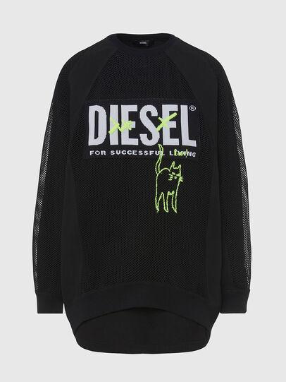 Diesel - M-PORTIA, Schwarz - Strickwaren - Image 1