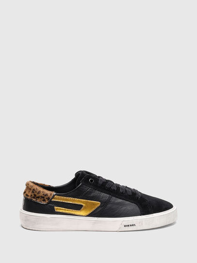 Diesel - S-MYDORI LL W, Blau/Gold - Sneakers - Image 1