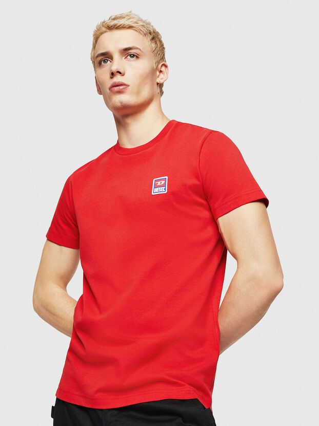 T-DIEGO-DIV, Feuerrot - T-Shirts