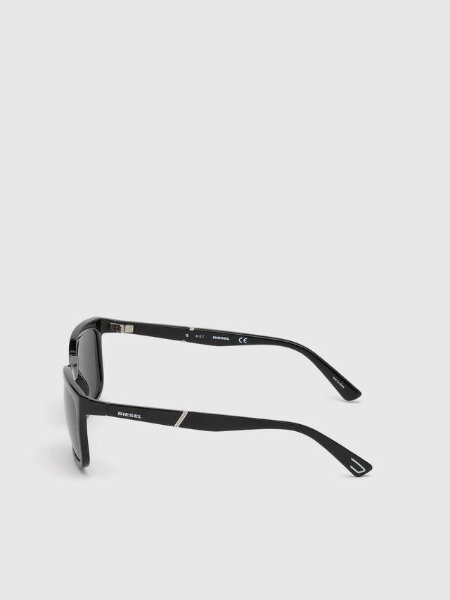 Diesel - DL0262, Schwarz - Sonnenbrille - Image 3