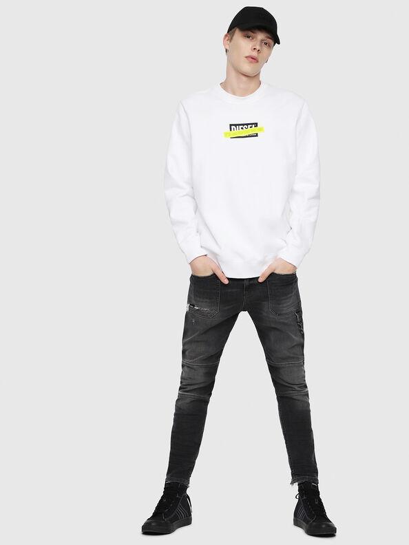 S-GIR-DIE, Weiß - Sweatshirts