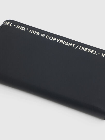 Diesel - 24 ZIP, Dunkelblau - Portemonnaies Zip-Around - Image 4