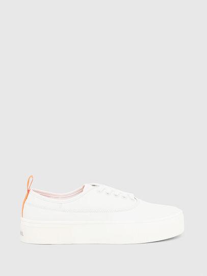 Diesel - S-VANEELA LOW, Weiß/Orange - Sneakers - Image 1