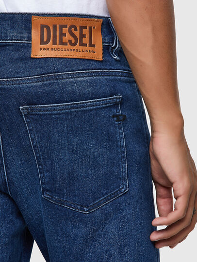 Diesel - D-Istort 009ZX, Dunkelblau - Jeans - Image 3