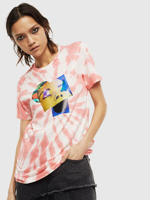 T-SILY-S4, Rosa/Weiß - T-Shirts