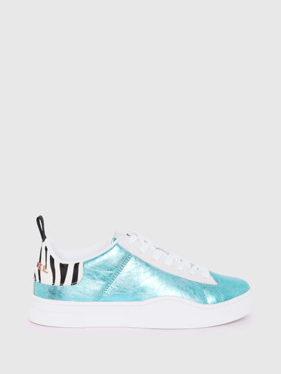 Diesel - S-CLEVER LOW LACE W, Azurblau - Sneakers - Image 1