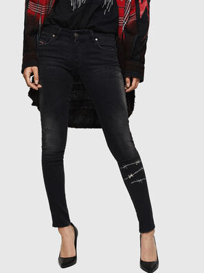 Slandy Low 069GH, Schwarz/Dunkelgrau - Jeans