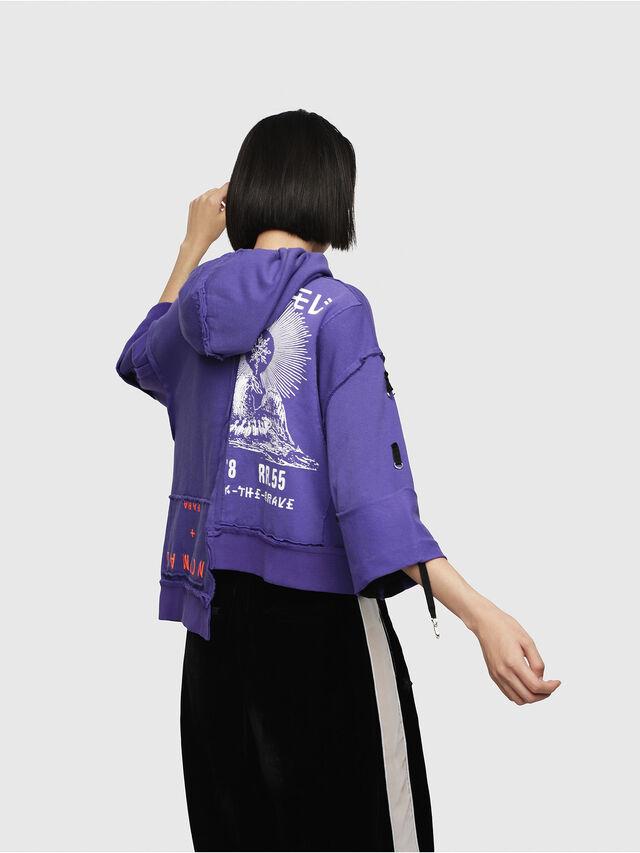 Diesel - F-MIKI, Violett - Sweatshirts - Image 2