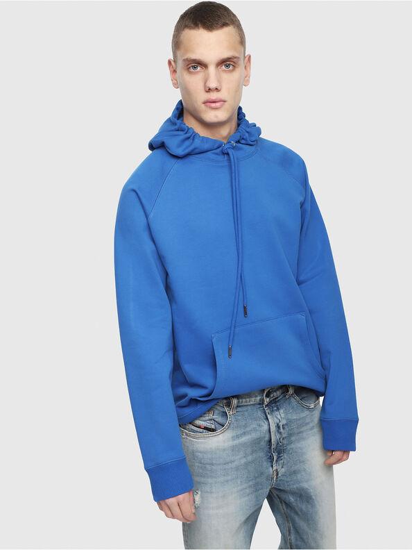S-GIM-HOOD-A, Brillantblau - Sweatshirts