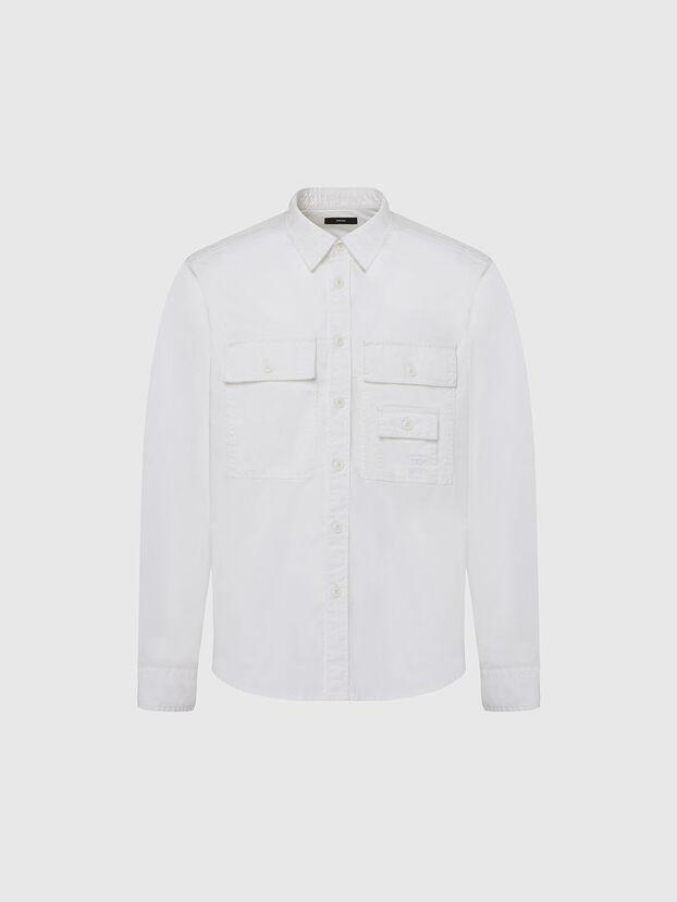 S-ALLEN-KA, Weiß - Hemden