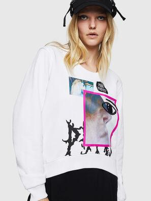 F-LYANYDY-B, Weiß - Sweatshirts