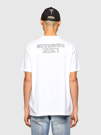 Diesel - CL-T-JUST-O1, Weiß - T-Shirts - Image 3