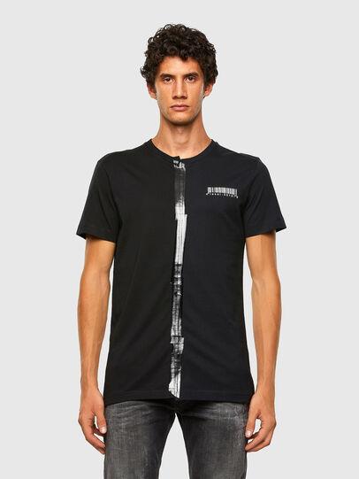 Diesel - T-JUBBY, Schwarz - T-Shirts - Image 5