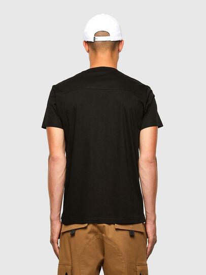 Diesel - T-ZITASK, Schwarz - T-Shirts - Image 2