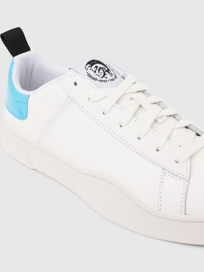 Diesel - S-CLEVER LOW LACE, Weiß/Blau - Sneakers - Image 4
