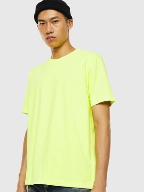 T-JUST-SLITS-FLUO, Neongelb - T-Shirts