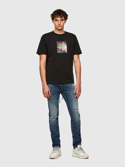 Diesel - Thommer JoggJeans® 069SZ, Dunkelblau - Jeans - Image 5