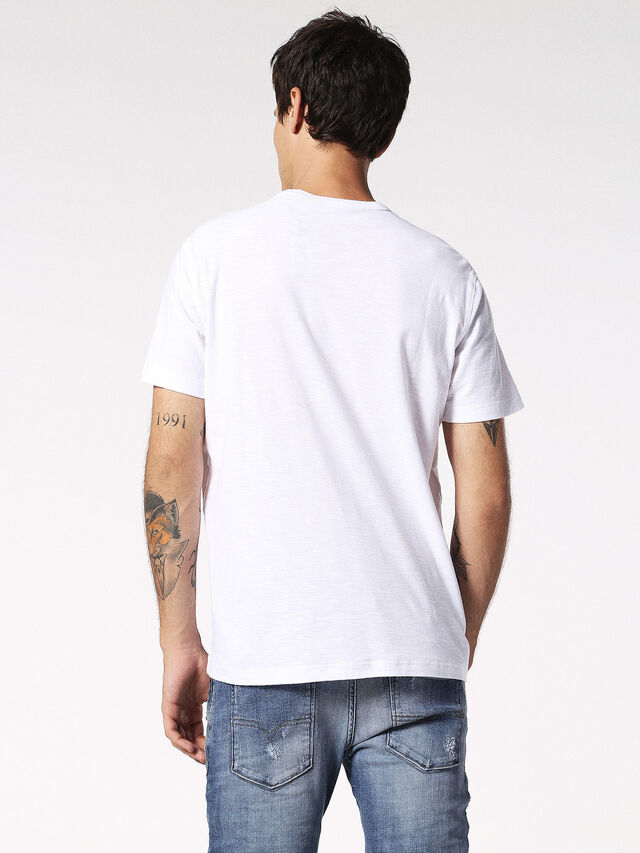 Diesel - T-TERRENCE, Weiß - T-Shirts - Image 2