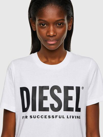 Diesel - T-SILY-ECOLOGO, Weiß - T-Shirts - Image 3