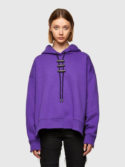 Diesel - F-RENTOL, Violett - Sweatshirts - Image 1