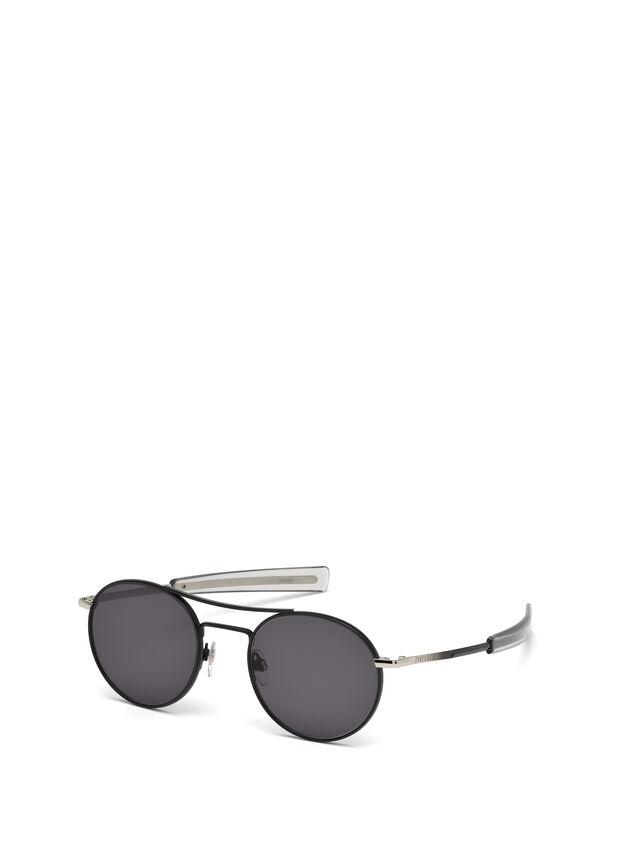 Diesel - DL0220, Schwarz - Sonnenbrille - Image 4