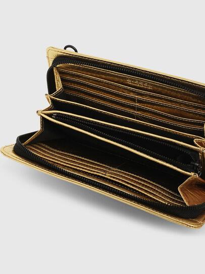 Diesel - GRANATO LCLS, Gold - Portemonnaies Zip-Around - Image 3