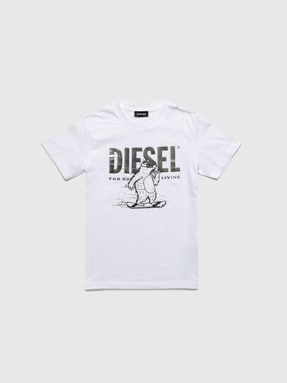Diesel - TBEAR-TSE, Weiß - T-Shirts und Tops - Image 1
