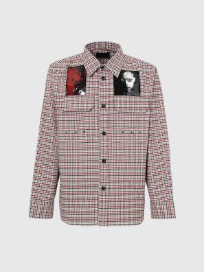 S-IDOL, Schwarz/Rot - Hemden