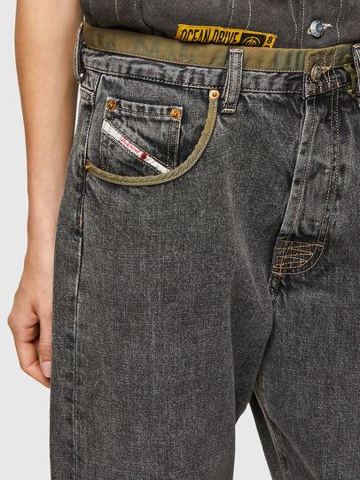 Diesel - DxD-P3 0CBBH, Schwarz/Dunkelgrau - Jeans - Image 4